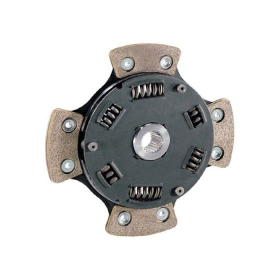 Sachs High Performance Clutch Plate – Sintered Friction Material – Rigid Centre Plate – Torque Rating 529 lb/ft