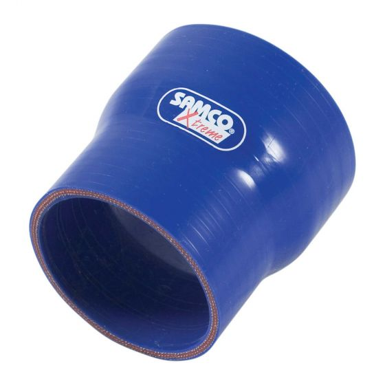 Samco Xtreme Straight Reducer Hose – 89mm to 76mm Blue, Blue