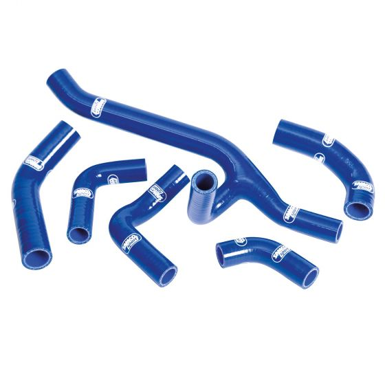 Samco Performance Silicone Supercharger Hose Kit – Blue 4 Hoses, Blue
