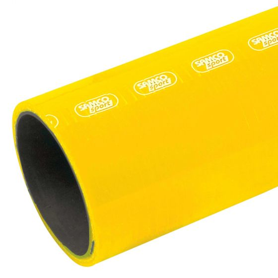 Samco Diesel & Oil Resistant Straight Silicone Hose – Standard Colours – 89mm Yellow, Yellow
