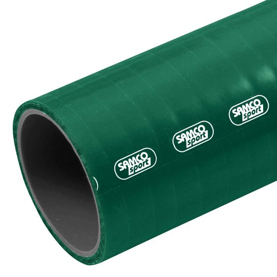 Samco Diesel & Oil Resistant Straight Silicone Hose – Standard Colours – 9.5mm British Racing Green, Green