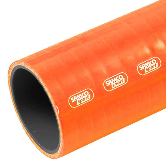 Samco Diesel & Oil Resistant Straight Silicone Hose – Standard Colours – 8mm Orange, Orange