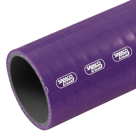 Samco Diesel & Oil Resistant Straight Silicone Hose – Standard Colours – 9.5mm Purple, Purple