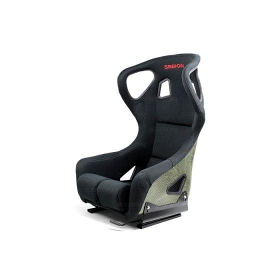 Seibon Carbon Kevlar Racing Seat – FC Type, Black