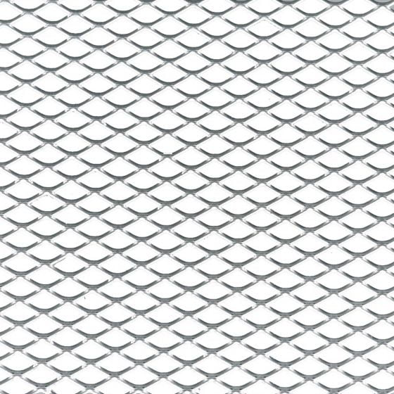 Foliatec Aluminium Grille Mesh – Medium Aperture Black Unfolded, Black