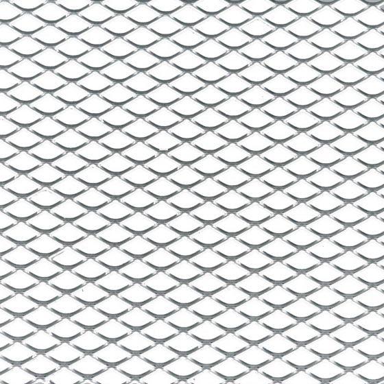 Foliatec Aluminium Grille Mesh – Medium Aperture Silver Folded, Silver