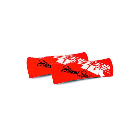 Simoni Racing Seat Harness Pads – Red, Red