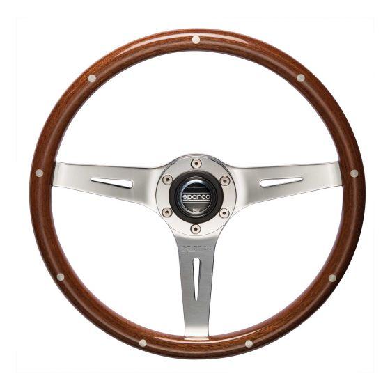 Sparco Sanremo Woodrim Steering Wheel