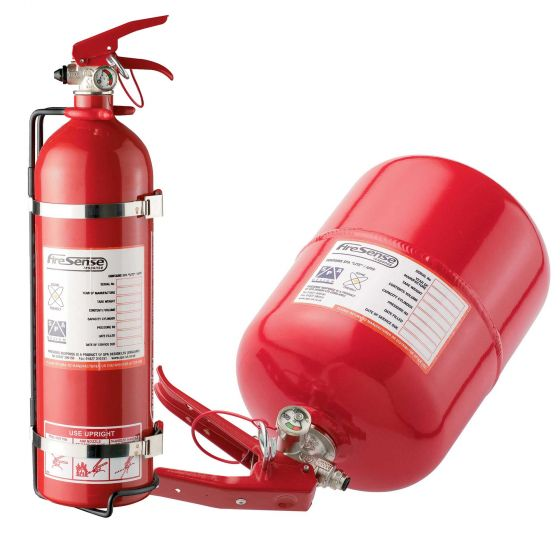 SPA Design 2.25 Ltr Mechanical Extinguisher Rally Package