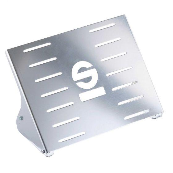 Sparco Navigator Footrest, Silver