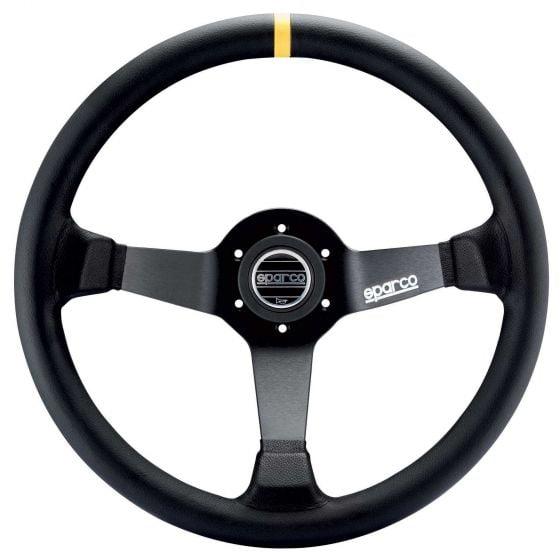 Sparco 325 Steering Wheel – Black Leather – 350mm