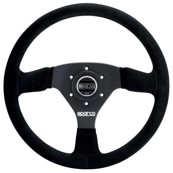 Sparco 333 Steering Wheel – Black Suede – 330mm