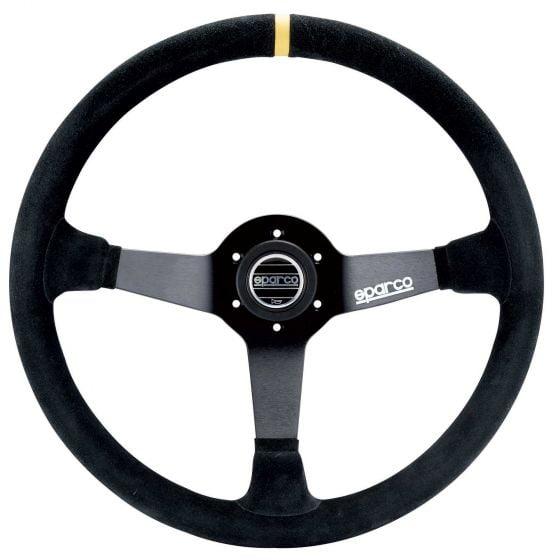 Sparco 368 Steering Wheel – Black Suede – 380mm