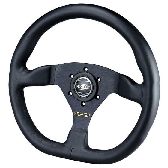 Sparco Ring L360 Steering Wheel – Leather