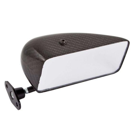 SPA Design GT LE Mans Saloon Carbon Fibre Race Mirror – Convex Glass Right Hand