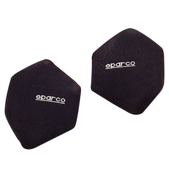 Sparco Side Backrest Cushions – Black (Pair)