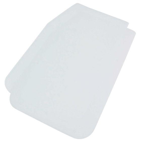 Sparco Universal Mudflaps – White, White