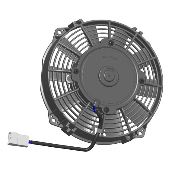 """Spal High Performance Electric Fans – 7.5"""" (190mm) 10 Blade – Blows Air"""