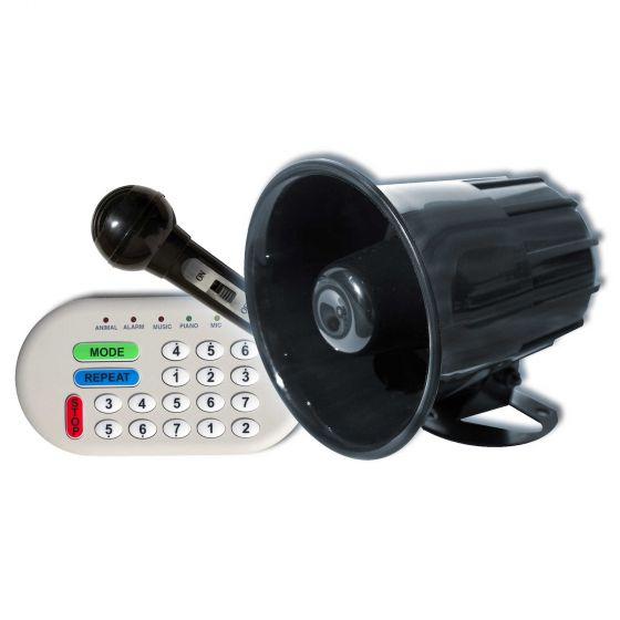 Simoni Racing Car Horn – Multifunction, MP3 playback, 46 preset sounds