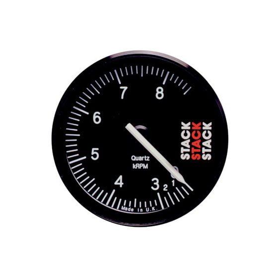 Stack ST400 80mm Recording Tachometer – 0-8000 Rpm, Black