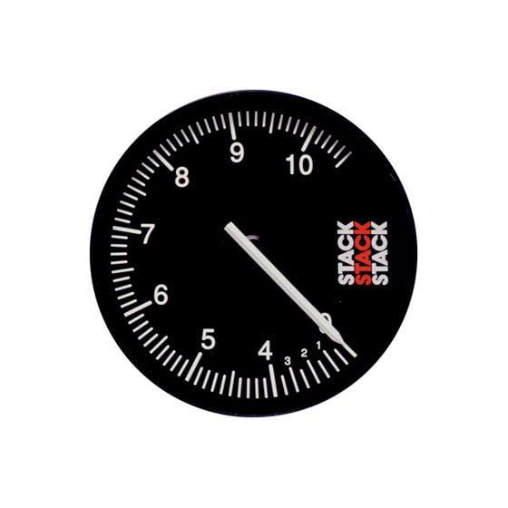 Stack ST430 125mm Recording Tachometer – 0-6-13000 Rpm, Black