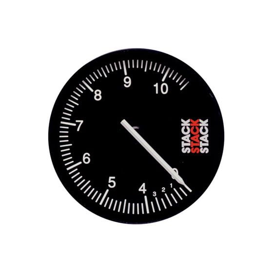 Stack ST430 125mm Recording Tachometer – 0-10000 Rpm, Black