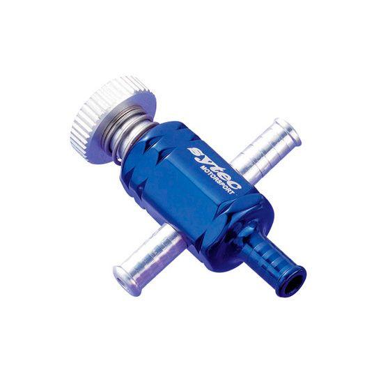 Sytec Lockable Under Bonnet Turbo Boost Adjuster – Blue, Blue
