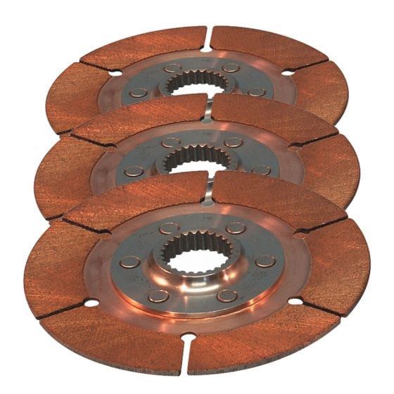 "Tilton 7.25"" Sintered Triple Plate Disc Pack – 7/8"" x 20"
