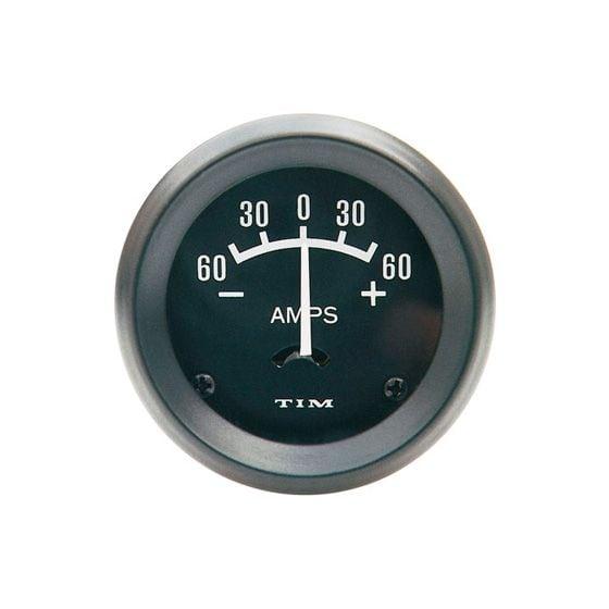 TIM Ammeter – -60 0 +60 Amps, Black