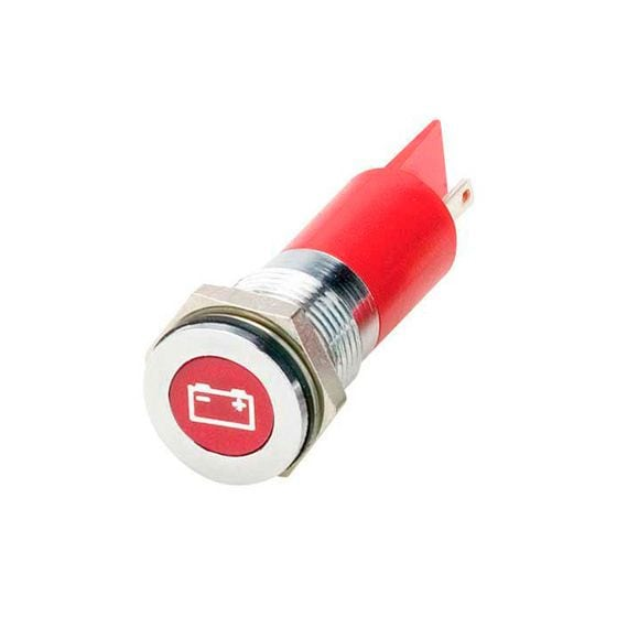 Trillogy LED Warning Lights – Battery Warning Light, Red