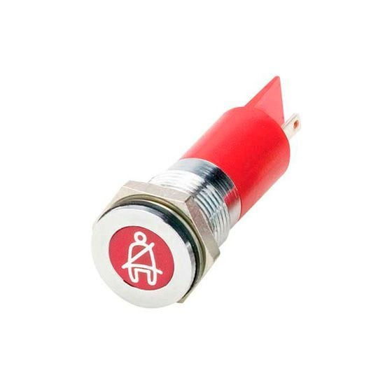 Trillogy LED Warning Lights – Seat Belt Warning Light, Red