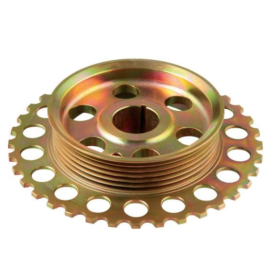 TTV Racing Components Duratec Underdrive Lightweight Billet Crank Pulley – 2.3 Engine
