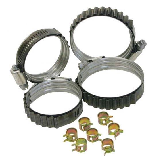 "Turbosmart Dual Bead Shield Hose Clip – 1.375 – 1.875"""