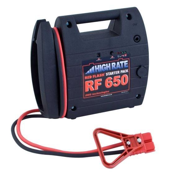 Varley Red Flash 650 Grid Start – Anderson Jack Plug (175 Amp)