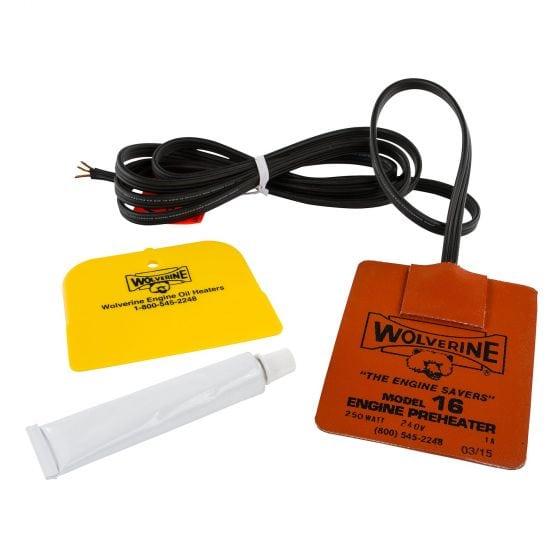 Wolverine Heaters Engine Oil Pre Heater – 3.5 x 4.5 Inch