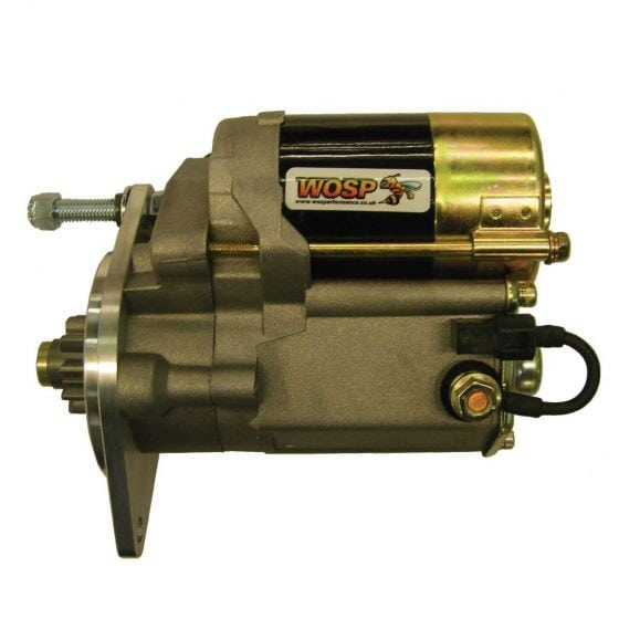 WOSP Lightweight High Torque Starter Motor – Replaces Bomb Type Starter – Denso Type 1.0Kw Output