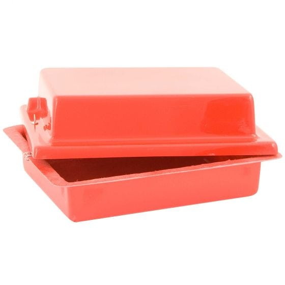 X-Sport Red Top 40 Lay Flat Battery Box – Carbon