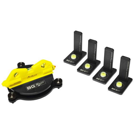B-G Racing Scale Pad Laser Levelling Kit
