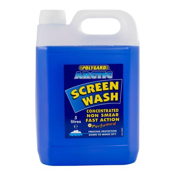Demon Tweeks Arctic Screen wash – Concentrate, Non Smear – 5 Litre