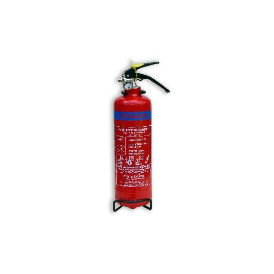 Demon Tweeks 1Kg Dry Powder Fire Extinguisher