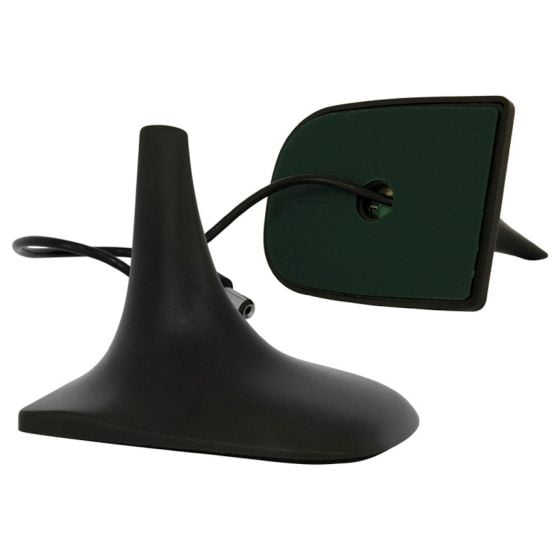Auto-Style Universal Shark Fin Aerial – Short Adhesive Mounted, Black