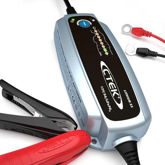 CTEK Lithium XS Battery Charger – 123