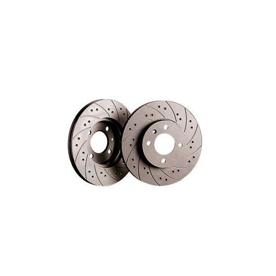 Black Diamond Combi Brake Discs – Front Pair 234x12mm Solid Discs