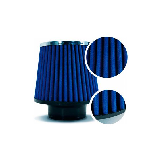 Drift Twin Cone Metal Cap Filters – 100mm Neck ID, Cylindrical, Stainless