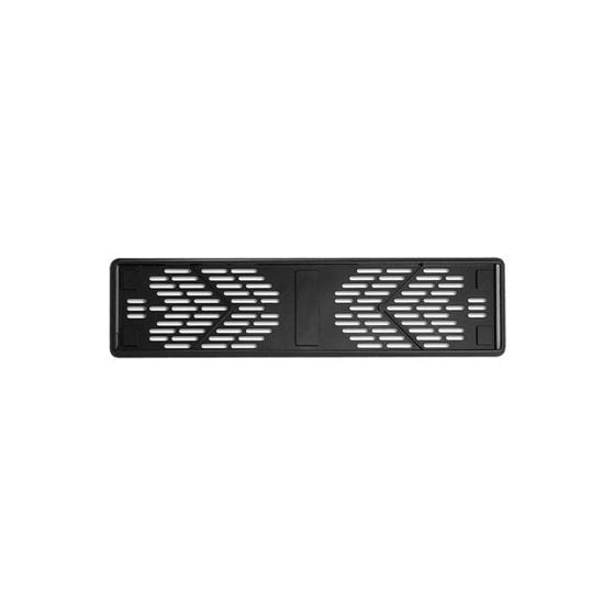 E-Tech Engineering Number Plate Holder – Black ABS
