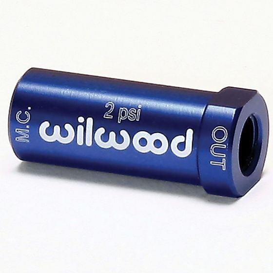Wilwood Residual Pressure Valve – 2 psi Blue