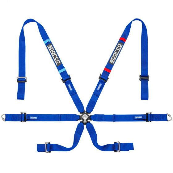 Sparco Prime H-7 Lightweight Harness, Blue