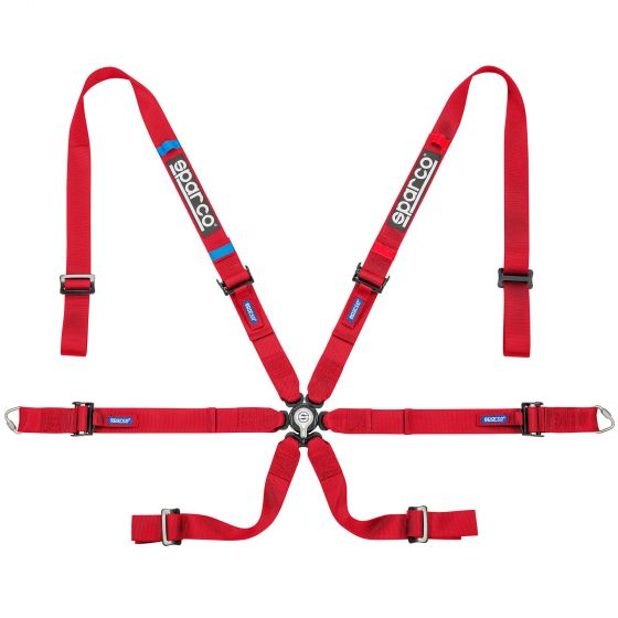 Sparco Prime H-7 Lightweight Harness, Red