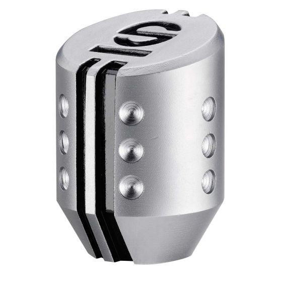 Sparco Settanta Gear Knob – Satin Titanium, Lift Up Reverse, Silver