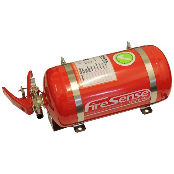 SPA Design Mechanical 4.0 Ltr Automatic Saloon Fire Extinguisher